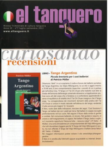 articolo su el tanguero 2012